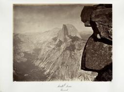 Carlton E. Watkins; South Dome, Yosemite; c.1876; albumen silver print from glass negative; The Metropolitan Museum of Art