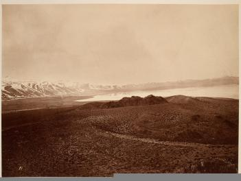 Timothy O'Sullivan; Mono Lake; 1867; albumen print; George Eastman House