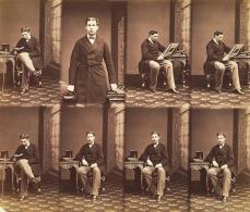 André Adolphe Eugène Disdéri; Duc de Coimbra; c.1860; albumen print; 20.1 x 23.7 cm; George Eastman House, Rochester, NY