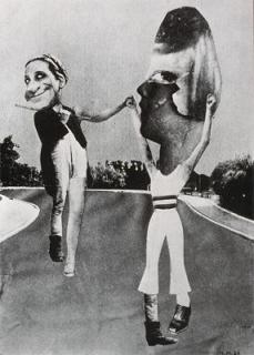 Hannah Höch; Vagabond; 1926; collage, photomontage; 14 x 10'