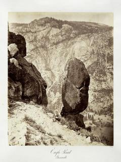 Carlton E. Watkins; Eagle Point, Yosemite; c. 1872; albumen silver print from glass negative; The Metropolitan Museum of Art