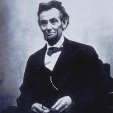 Alexander Gardner; Abraham Lincoln; 1865; albumen print