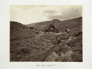 Carlton E. Watkins; Sutro Tunnel Shaft No. 3 ; c.1876; albumen silver print from glass negative; The Metropolitan Museum of Fine Art