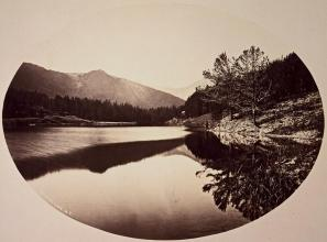 Timothy O'Sullivan; Mystic Lake; 1872; albumen print; 26.1 x 33.5 cm; George Eastman House