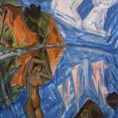 Erich Heckel; Glass Day; 1913; oil on canvas; 138 x 114 cm