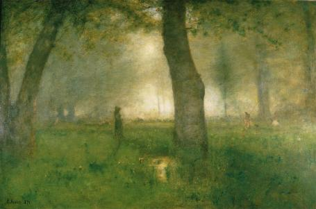 George Inness; Trout Brook; Newark Museum