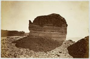 William Henry Jackson; Tea Pot Rock; 1870; albumen print; 12.6 x 19.4 cm; George Eastman House