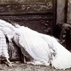 Henry B. Major; Sarah Bernhardt; c.1880; albumen print; 10.6 x 14.6 cm; George Eastman House, Rochester, NY