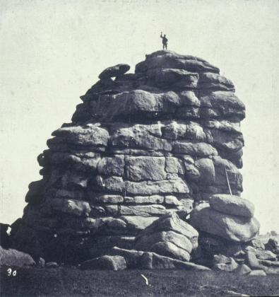 William Henry Jackson; Skull Rock; 1869