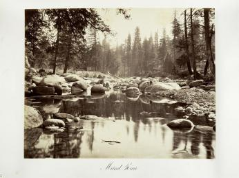 Carlton E. Watkins; Merced River; c.1876; albumen silver print from glass negative; The Metropolitan Museum of Fine Art