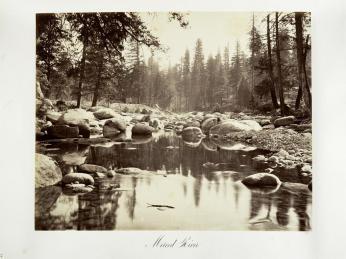Carlton E. Watkins; Merced River; c.1876; albumen silver print from glass negative; The Metropolitan Museum of Fine Art