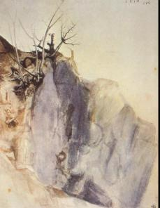 Albrecht Dürer; Quarry; 1495-7; watercolor; 292 x 224 cm