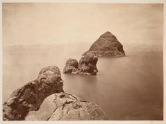 Timothy O'Sullivan; Pyramid, Pyramid Lake, Nevada; 1868; albumen print; 19.8 x 27.0 cm; George Eastman House