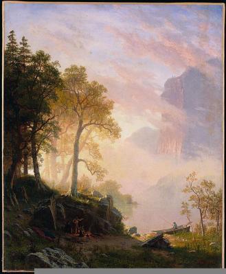 Albert Bierstadt; The Merced River in Yosemite; 1868; oil on canvas; The Minneapolis Institute of Arts
