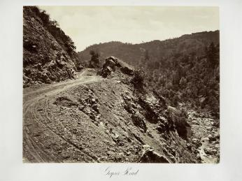 Carlton E. Watkins; Geyser Road; c.1876; albumen silver print from glass negative; The Metropolitan Museum of Fine Art