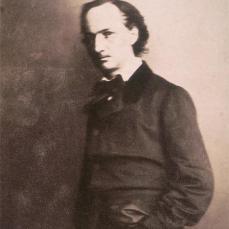 Félix Nadar; Baudelaire; 1856-8; salted paper print