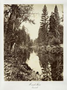 Carlton E. Watkins; Merced River, Yosemite; c.1876; albumen silver print from glass negative; The Metropolitan Museum of Fine Art