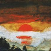 Emil Nolde; Before Sunrise; 1894