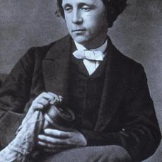 Lewis Carroll; Photograph of Lewis Carroll; 1863