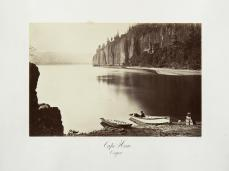 Carlton E. Watkins; Cape Horn, Oregon; c.1876; albumen silver print from glass negative; The Metropolitan Museum of Fine Art