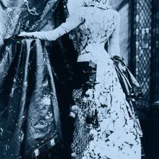 Napoleon Sarony; Sarah Bernhardt; 1865; albumen print