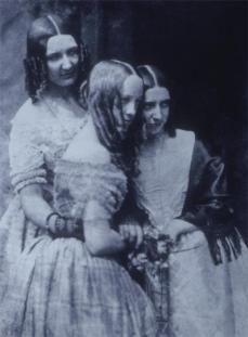 David Octavius Hill; Misses Binny and Miss Monro; c.1845; calotype; Metropolitan Museum of Art, New York, NY