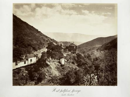 Carlton E. Watkins; Hot Sulphur Springs, Santa Barbara; c.1876; albumen silver print from glass negative; The Metropolitan Museum of Fine Art