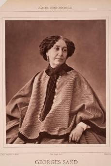 Félix Nadar; Georges Sand; 1860; woodbury type; 23.2 x 18.7 cm; George Eastman House, Rochester, NY