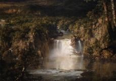 Frederic Edwin Church; Heart of the Andes (detail); 1859; oil on canvas; 168.0 x 302.9 cm; The Metropolitan Museum of Art