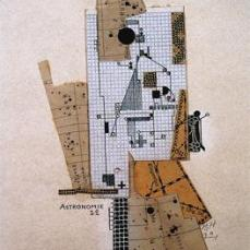 Hannah Höch; Astronomy (Astronomie); 1922; collage; 25.7 x 20.5 cm