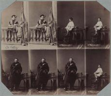 André Adolphe Eugène Disdéri; The Lavallée Family; 1860; albumen print; Museum of Fine Arts, Boston