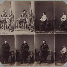 André Adolphe Eugène Disdéri; The Lavallée Family; 1860; albumen print; Museum of Fine Arts, Boston