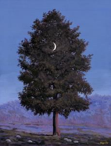 Renée Magritte; Le 16 Septembre; c.1955; gouache