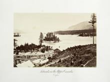 Carlton E. Watkins; Islands in the Upper Cascades, Oregon; c.1876; albumen silver print from glass negative; The Metropolitan Museum of Fine Art