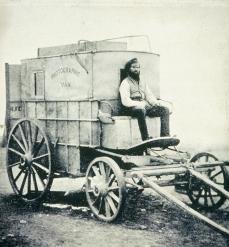 Roger Fenton; Fenton's Photographic Van; 1855