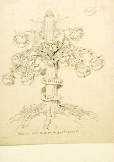 Daniel Carter Beard; A tree is known by its fruits; c.1889; Library of Congress Prints and Photographs Division, Washington DC