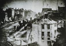 Louis Jaques Mandé Daguerre; View of the Boulevard du Temple, Paris (2nd view taken on same day); 1839; daguerrotype