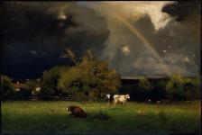 George Inness; The Rainbow; 1878-9; oil on canvas; 30 x 45 inches