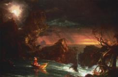 Thomas Cole; Voyage of Life: Manhood; 1842; oil on canvas