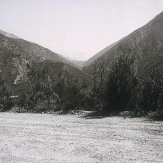 Robert Adams; Looking into the San Gabriel Mountains from North of Upland; 1986