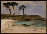 Albert Bierstadt; Sea Cove; c.1880-90; 35.6 x 48.3 cm; The Metropolitan Museum of Art