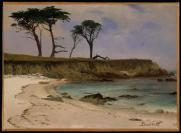 Albert Bierstadt; Sea Cove; c.1880-90; 35.6 x 48.3 cm; The Metropolitan Museum of Art