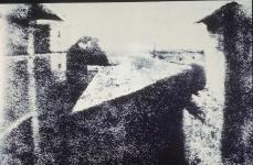 Niepce Nicephore; View from Niepce's Window at Gras. 1st. Photo; 1826; heliograph