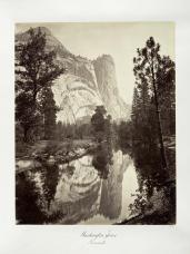 Carlton E. Watkins; Washington Tower, Yosemite; c.1876; albumen silver print from glass negative; The Metropolitan Museum of Fine Art
