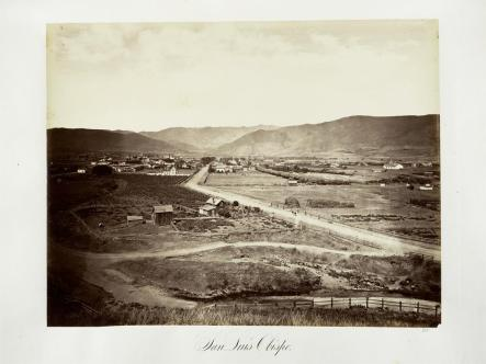 Carlton E. Watkins; San Luis Obispo; c.1876; albumen silver print from glass negative; The Metropolitan Museum of Fine Art