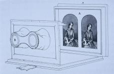 Claudet Stereoscope