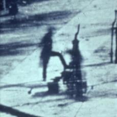 Louis Jaques Mandé Daguerre; Paris Boulevard det. Man; 1839; daguerrotype
