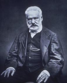 Etienne Carjat; Victor Hugo; 1876; woodbury type