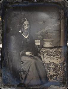 Albert Sands Southworth; Harriet Beecher Stowe; 1850s; daguerrotype; The Metropolitan Museum of Art, New York, NY