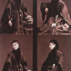 André Adolphe Eugène Disdéri; Sarah Burnhardt